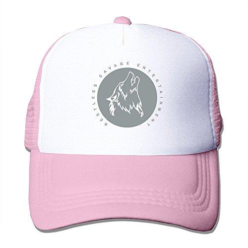 Personalized Restless Savage Logo Beanie Cap Hat Pink