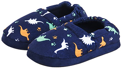 MIXIN Boys Girls Memory Foam Indoor Outdoor Cute Warm Cozy Slip on Non Slip Slippers Shoes