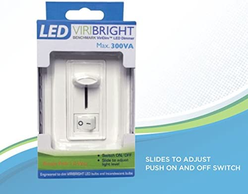Viribright LED Dimmer Switch, Electronic Low Voltage (ELV) Noise ...