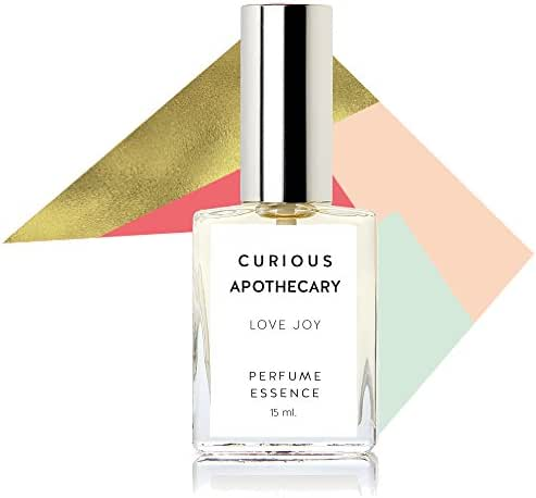 Curious Apothecary Love Joy Pink Grapefruit perfume for women. Vibrant Pink grapefruit, radiant white florals women's fragrance. 15 ml
