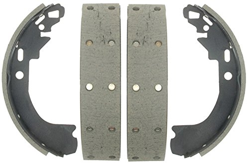 ACDelco 17904R Professional Riveted Rear Drum Brake Shoe Set