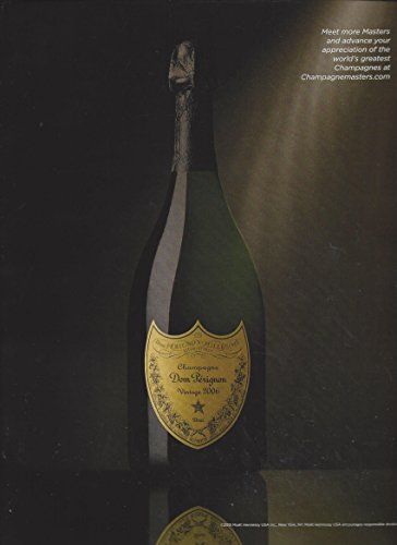 MAGAZINE ADVERTISEMENT For 2006 Dom Perignon Champagne