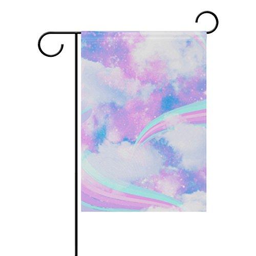 ColourLife Unicorn Galaxy Cloud Seasonal Holiday Garden Yard