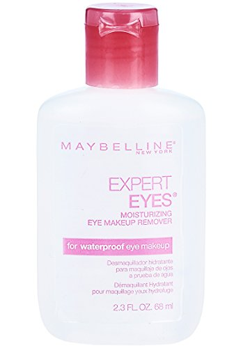 Maybelline New York Expert Eyes Moisturizing Eye Makeup Remover, For Waterproof Eye Makeup, 2.3 fl. oz.