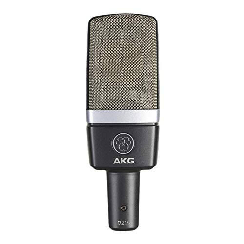 (AKG Pro Audio C214 Professional Large-Diaphragm Condenser Microphone)