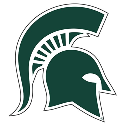 NCAA Michigan State Spartans Premium Vinyl Decal (12