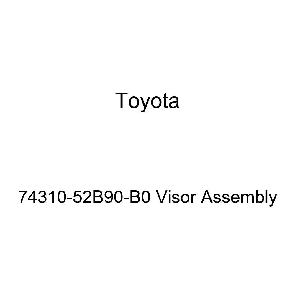 TOYOTA Genuine 74310-52B90-B0 Visor Assembly