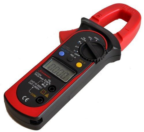 Uni-T UT204 Auto-Ranging AC DC Ture RMS Auto//Manual Range Digital Handheld Clamp Meter Multimeter Test Tool