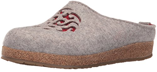 Haflinger Womens GZ Dream Flat Captains Blue/Silver/Grey sTlObQ0Gc9