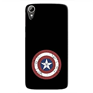 Cover It Up - Captain Shield Print Desire 828 Hard Case