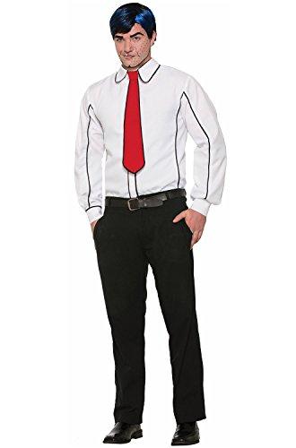 Pop Art Halloween Look (Forum Novelties Pop Art Shirt and Tie Costume - Standard - Chest Size up to)