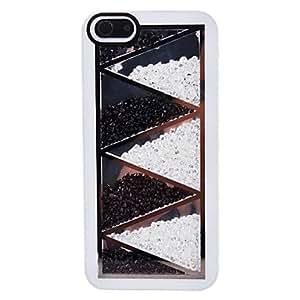 Colorful Rhinestones Design Hard Case for iPhone 5/5S