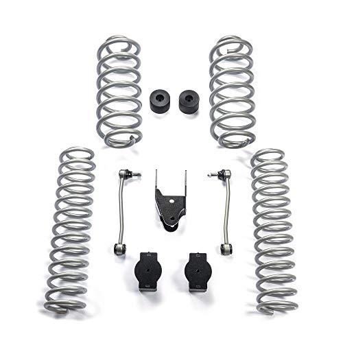 POISON FROG PL8435 3.5 Coil Spring Suspension Lift Kit for 2018 Jeep Wrangler JL 4DR