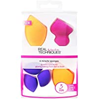 Real Techniques 6 Miracle Sponges Make Up Brush Set