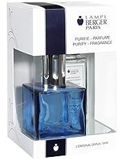 Lampe Berger Giftset Lamp Gift Set-Cube Blue, Includes Fragrance Ocean Breeze 180ml / 6.08 fl.oz