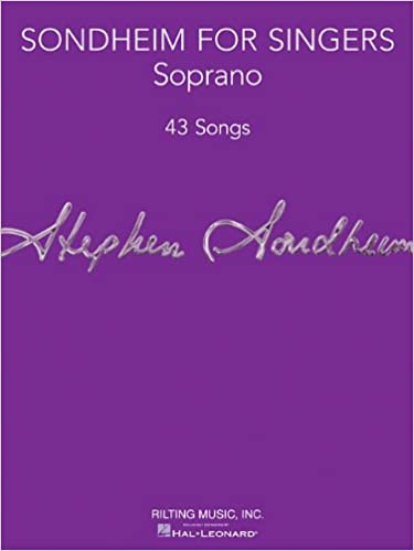 //EXCLUSIVE\\ Sondheim For Singers - Soprano. English other extruded OPINION leading trato School