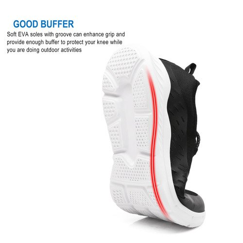 Running Sport Shoes exeblue Sneakers Lightweight Black Men��s Athletic Breathable Shoes Ultra EqZZ1Cw