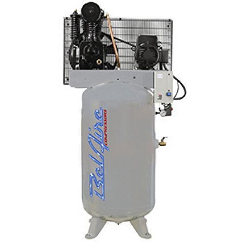 Amazon.com: BelAire 438VL4 460-Volt 7.5-HP 80-Gallon Vertical Electric Air Compressor: Home Improvement