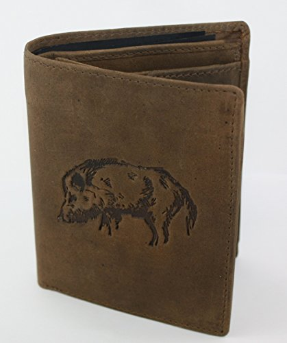 Motif with Wallet Portrait with Wallet Wild Wild Boar wgqHYwf