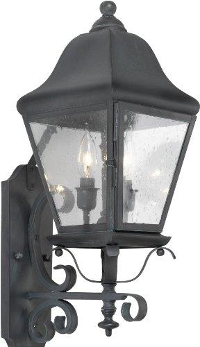 Elk 5310-C 8 by 20-Inch Belmont 3-Light Outdoor Wall Lantern, Charcoal -