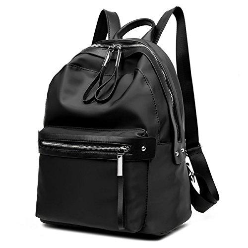 Escuela Chica Moda Negro Niñas Bolsas Adolescentes De Mochilas Para Flada Mochila Pu Cuero Casual v0q8dnwR