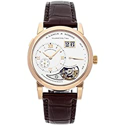 A. Lange & Sohne Lange 1 Mechanical (Hand-Winding) Silver Dial Mens Watch 704.032 (Certified Pre-Owned)
