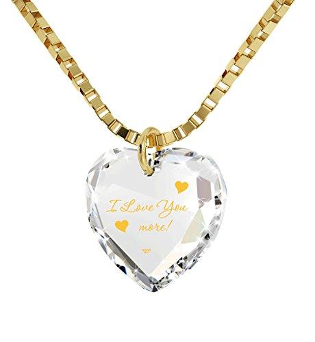 Necklace Inscribed Pendant Crystal Swarovski product image