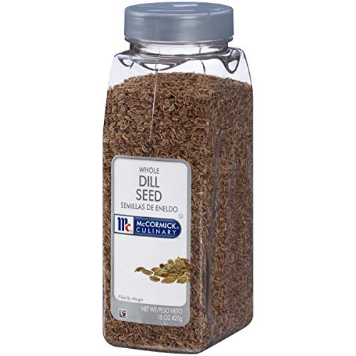 McCormick Culinary Whole Dill Seed, 15 oz (Dill Seed Frontier)