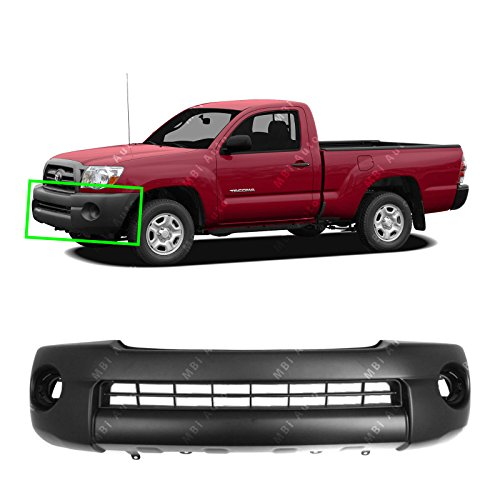 2011 Toyota Tacoma Base - BUMPERS THAT DELIVER - Textured, Front Bumper Cover Fascia for 2005-2011 Toyota Tacoma Base Pickup 05-11, TO1000304