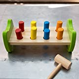 Fat Brain Toys Pound & Tap Hammer Bench