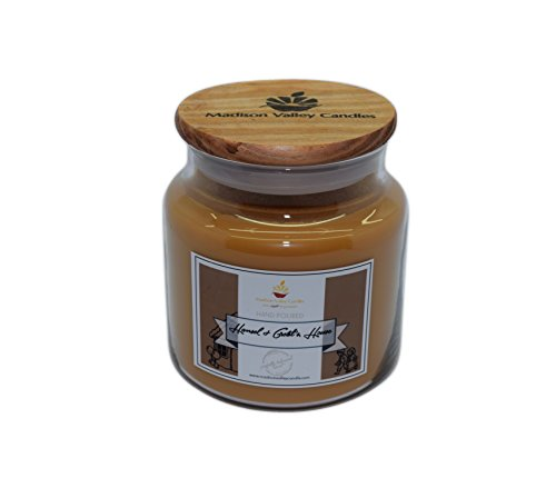 Strong Scented Hansel & Gretel Crackling Wood Wick Soy Candle 16oz By Madison Valley Soy Candle Company