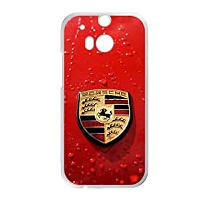 Happy Porsche sign fashion cell phone case for HTC One M8
