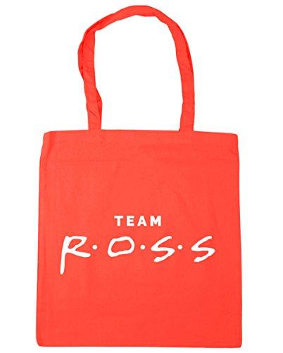 HippoWarehouse equipo Ross Tote Compras Bolsa de playa 42cm x38cm, 10litros Coral