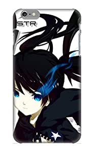 MBeDau-4380-ZFFyP Summerlemond Awesome Case Cover Compatible With Iphone 6 Plus - Anime Black Rock Shooter Strength Dead Master