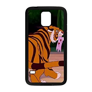 Samsung Galaxy S5 Phone Case Cover Black Disney Aladdin Character Rajah EUA15991064 Catalyst Phone Case