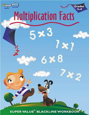 ECS LEARNING SYSTEMS MULTIPLICATION FACTS 3-4