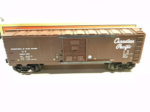 Lionel 29215 6464-398 Canadian Pacific Box Car Diecast Sprung Trucks 1998 Mint in Original (Lionel 6464 Boxcar)