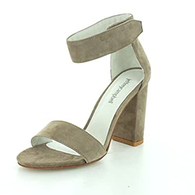 Jeffrey Campbell Women's Lindsay Sandals, Taupe, 6 B(M) US