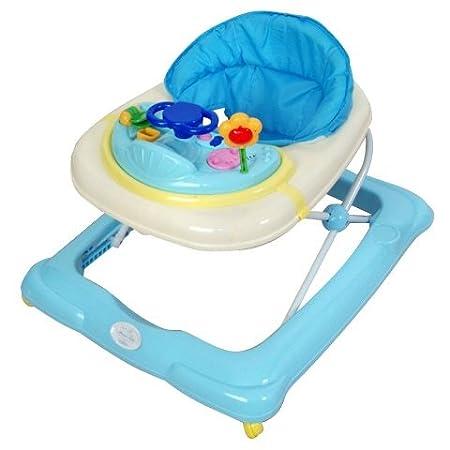 Andador para bebé, modelo osito. Andador de actividades o tacatá azul
