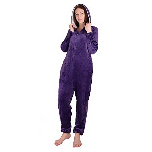 Cherokee Women's Onesie Sleepwear, Parachute Purple, M by Cherokee