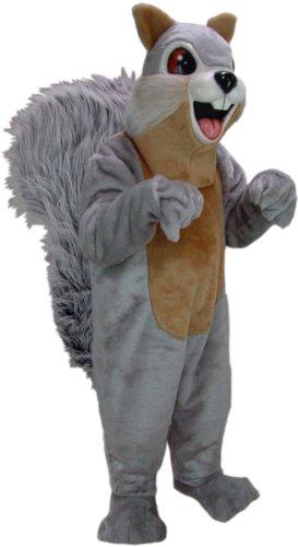 Grey Squirrel Tail Costume (Sue Squirrel Mascot Costume)