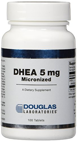 Douglas Laboratories Dhea Sublingual Tablets, 5 mg, 100 Count ()