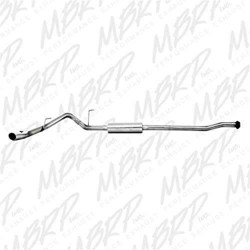 MBRP S5210409 T409-Stainless Steel Single Side Cat Back Exhaust System