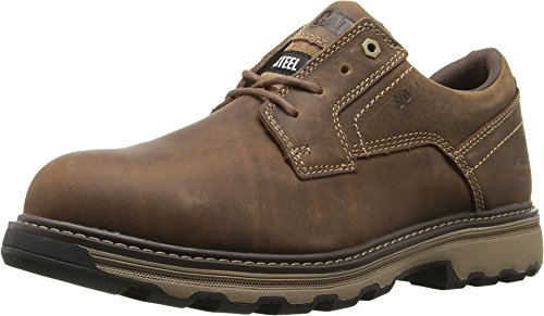 (90711 Caterpillar Men's Tyndall ESD Safety Shoes - Dark Beige - 7.5 - M)