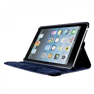 Quality Apple New Ipad Air2 Ipad 5 (2014-15) 360 Degree rotation Navy Blue Horizontal & Vertical View Leather Cover Apple New Ipad Air2 Ipad 5 (2014-15) by G4GADGET®