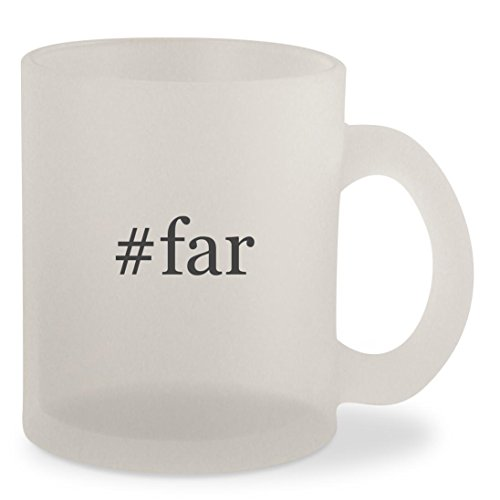 #far - Hashtag Frosted 10oz Glass Coffee Cup Mug