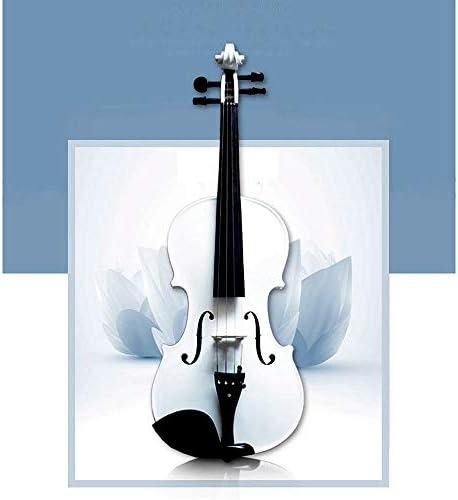 K99 Weiß Violine, Master-Prozess, Mit Handgemachten Fichte Und Kandidaten Für Anfänger Zu Verwenden, Mehr Als 4000 Hz Und Ohne Lärm