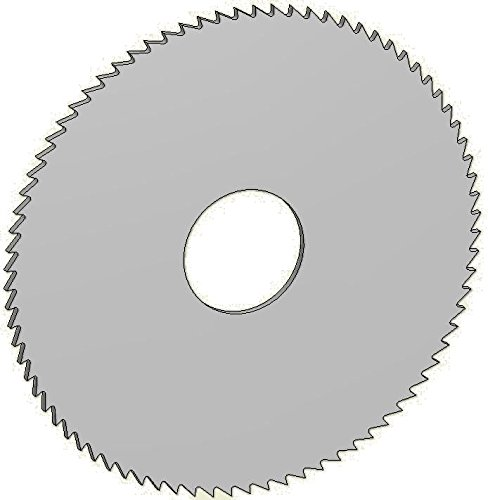 Controx-Neuhaeuser 240488 Slitting Saw High Speed Steel/-Co, Article Number 12601011580001, Tooth Form B, 4'' Diameter, 0.063'' Width, 1'' Bore by Controx-Neuhaeuser