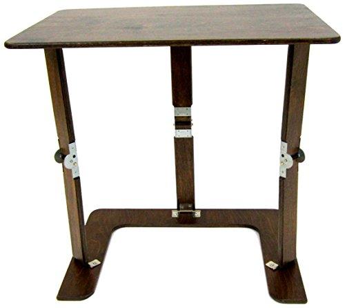 Spiderlegs Folding Couch Desk Tray Table, 25-Inch, Dark Walnut