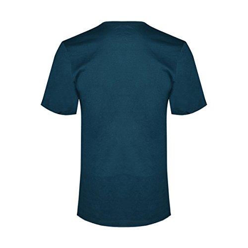 Nike Männer Nike läuft dieses Grafik T-Shirt Mitternacht Turq